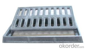Ductile Iron Waterproof Manhole Cover and Frame for Road Facilities