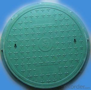 Ductile Iron Manhole Cover For Industry and Mining