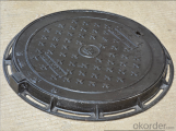 Ductile Iron Manhole Cover D400 for Construction in China