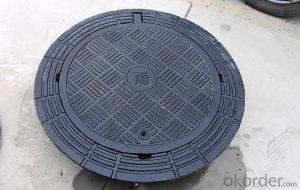 Ductile Iron Manhole Cover  for Industry with Heavy Duty