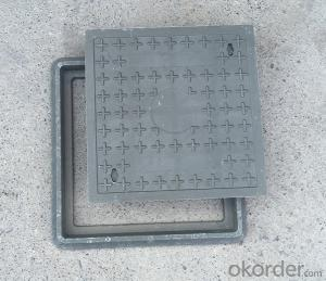 Ductile Iron Manhole Cover with Competitive Price for Construction