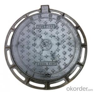 Ductile Iron Manhole Cover B125 for Industry in China