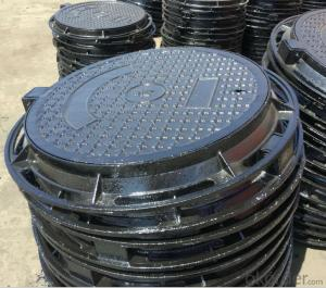 Ductile Iron Manhole Cover of Different Colours with High Quality in China