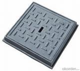 Electrical ductile iron manhole cover EN124 D400