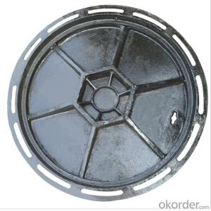Ductile Iron Manhole Cover D400 for Construction  with Competitive Price