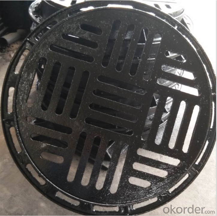 Buy ductile iron manhole cover for construction with en