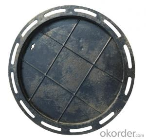 Ductile Iron Manhole Cover B125 for Industry  with Competitive Price