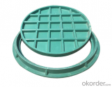 Ductile Iron Manhole Cover With EN124 in China
