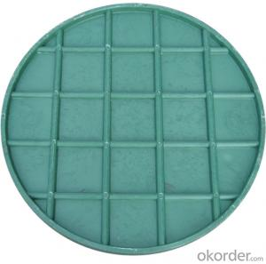 Manhole Cover with Grey Iron Ductile Iron Casting