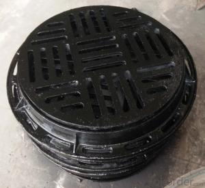 Ductile Iron Manhole Cover for Industry with High Quality in China