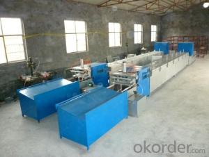 Filament winding machine manufacture the FRP horizontal winding