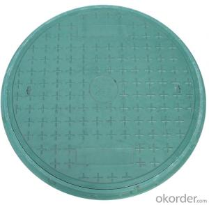 Ductile Cast Iron Manhole Cover with Lock and  China Best Price