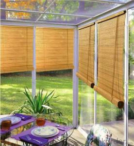 Roller Blinds/curtains with Aluminum Top Cover
