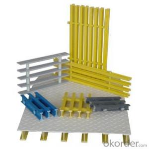 Fiberglass Reinforced Plastic FRP Pultruded Floor Grating