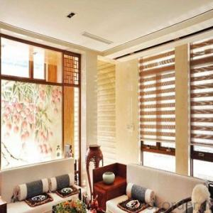 Bamboo Blinds Zebra Roller Blinds with Chinese Style