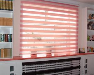 waterproof loaded roller blinds with magic screen