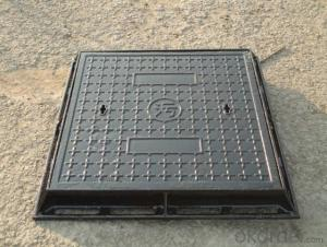 EN124 Epoxy Coating Ductile Iron Manhole Cover for Park