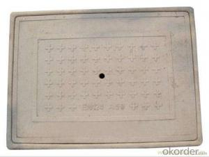 Foundry Sale Ductile Iron Casting Manhole Cover EN124 d400