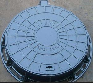 Cast Iron Round Manhole Cover EN124 D400