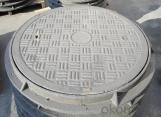 Road Water 60x60 Ductile Iron Manhole Cover and Drain Grating Made in China