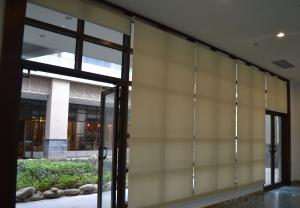 Home Decoration 25mm Aluminum Curtain Blinds