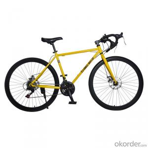 Cycling Road 26 Inch  High Carbon Steel Frame Gearshift  Before and After Mechanical Brake Bike