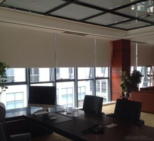 OEM fitting fabric made to measure modern roman blinds curtains