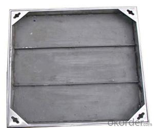 Sand Cast Ductile Iron Manhole Cover for Sale