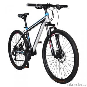 Mountain Bike New 26 Inch 21 speed Mechanical Disc Brake High Carbon Steel Frame wholesale bicycles