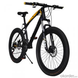 Mountain Bike 26 Inch 21-Speed Mechanical Disc Brake  Variable Speed High Carbon Steel Frame Bike