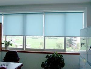 electric zipper and double sided roller blinds