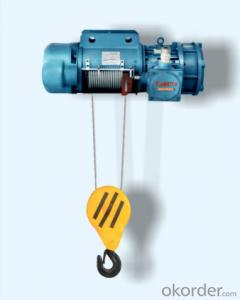 HB Type Blast-Proof Wire Rope  Motor-Driven Hoist