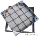 Ductile Iron Manhole Cover Made by  Professional Manufacturer