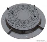 Customized   All kinds of Size Recessed Type Ductile Iron Manhole Cover