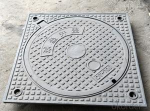 Ductile Iron Manhole Cover with OEM Service in China