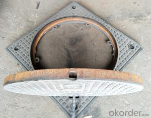 Ductile Iron Manhole Cover EN124 Standard with New Style in China
