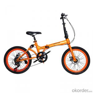Folding Mountain Bike 20 Inch 7 Speed High Carbon Steel Folding Frame Sports Bike Chinese Supplier