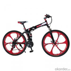 Folding Mountain Bike Sport Bicycle High Carbon Steel Frame Double Shock Wholesale Bicycles