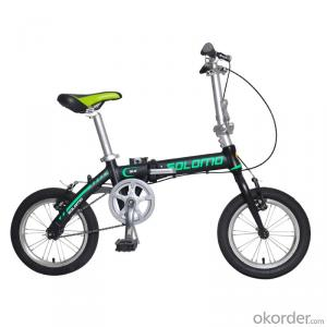 14 Inch  Alumimum Frame Pocket Bike Single-speed City Bicycle  Foldable Portable Bike China Supplier