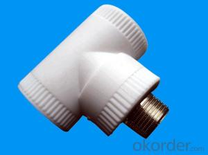 PPR Equal Tee Fittings of Industrial Application