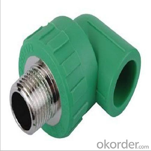 Buy ppr female threaded elbow fittings in price size
