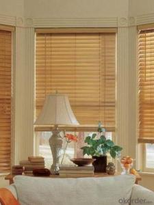 Indoor Window Wood Roller Blinds Components