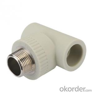 PPR Pipe and Fittings Female Tee and Equal Tee Made in China