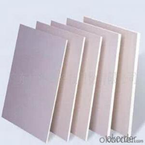 PVC foam board  3mm thick transparent rigid