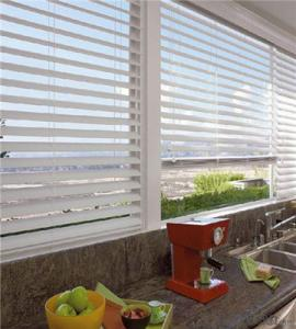 Spring Roller Blind with different width