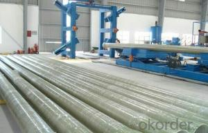 Glass Fiber Reinforced Polymer Pipe Corrosion resistance High mechanical property on sales