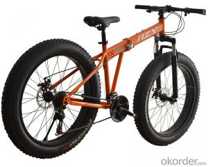 Folding Mountain Bike 26 Inch 7 Speed High Carbon Steel Frame Chinese Supplier Wholesale Bicycle