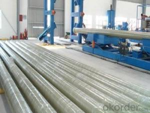 Glass Fiber Reinforced Polymer Pipe Convenient and quick installation in high quality