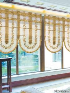 roller blinds with manually operated blackout