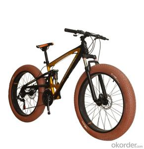 Fat Tire Bikes Custom 26 Inch 24 Speed  Aluminum Alloy Frame Bicycles Adults Snow Bike
